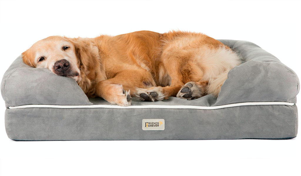 friends forever dog bed