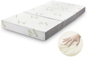 Folding Mattress, Inofia Memory Foam Tri-fold Mattress​