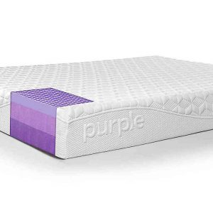 "Purple 9.5"" Hyper Elastic Polymer Mattress​"